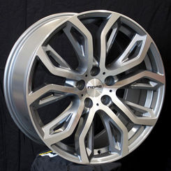 Nano BK510 Grey Polished, 20x105 ET40