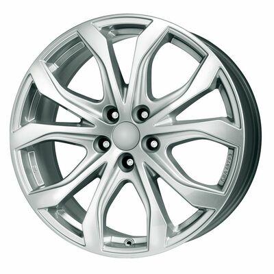 Alutec W10X Silver, 20x90 ET35