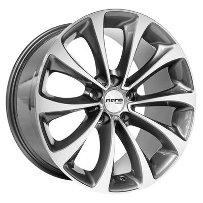 Nano BK845 Grey Polished, 19x95 ET30