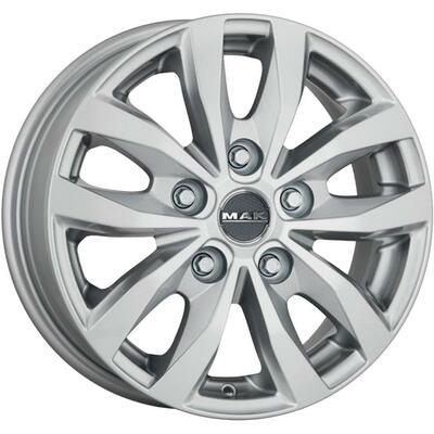 MAK Load 5 Silver, 16x65 ET55