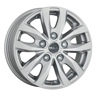 MAK Load 5 Silver, 16x65 ET47