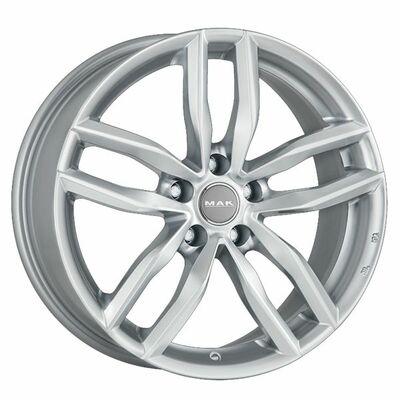 MAK Sarthe W Silver, 17x70 ET40