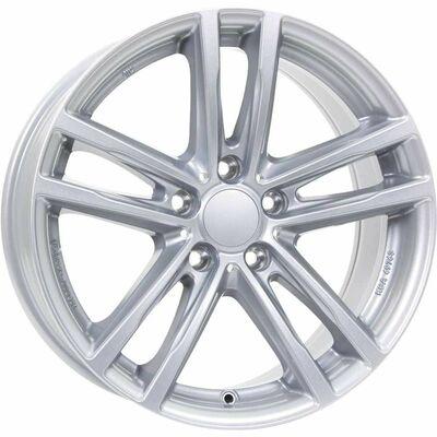 Alutec X10 Silver, 18x80 ET43