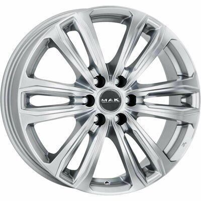 MAK Safari 6 Silver, 17x75 ET50