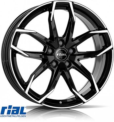 RIAL LUCCA BD 8,0X18, 5X114/39 (70,1) (Z) KG735