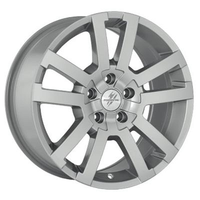 Fondmetal 7700 Silver, 17x80 ET34