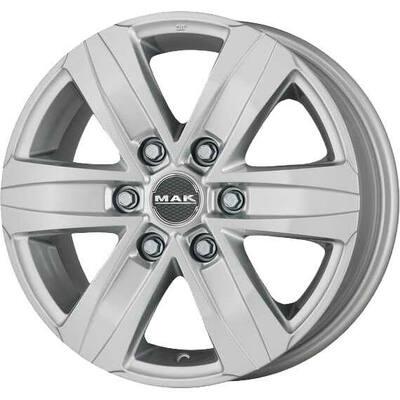 MAK Stone6 W Silver, 17x75 ET30
