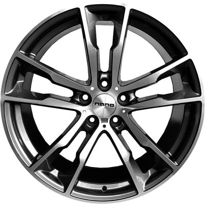 Nano BK5053 Grey Polished, 20x100 ET40