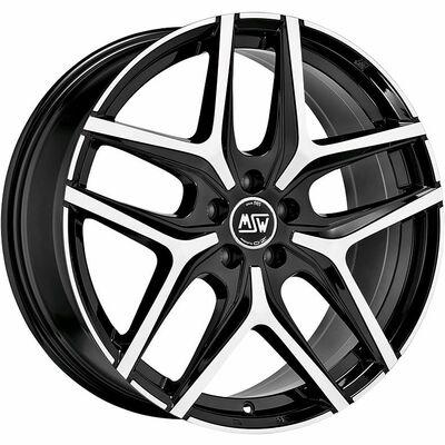 MSW 40 Black Polished, 19x75 ET40
