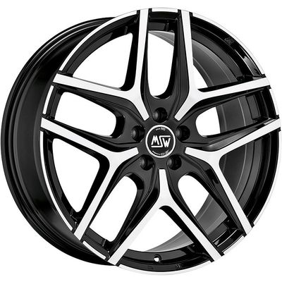 MSW 40 Black Full Pol, 17x70 ET45