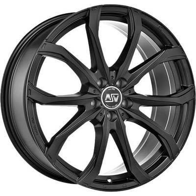 MSW 48 Matt Black, 17x75 ET40