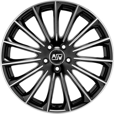 MSW 30 Black Full Pol, 17x75 ET45